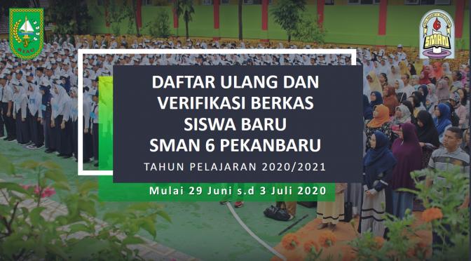 Daftar Ulang T.P 2020/2021